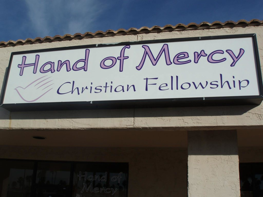 Hand of Mercy Sign
